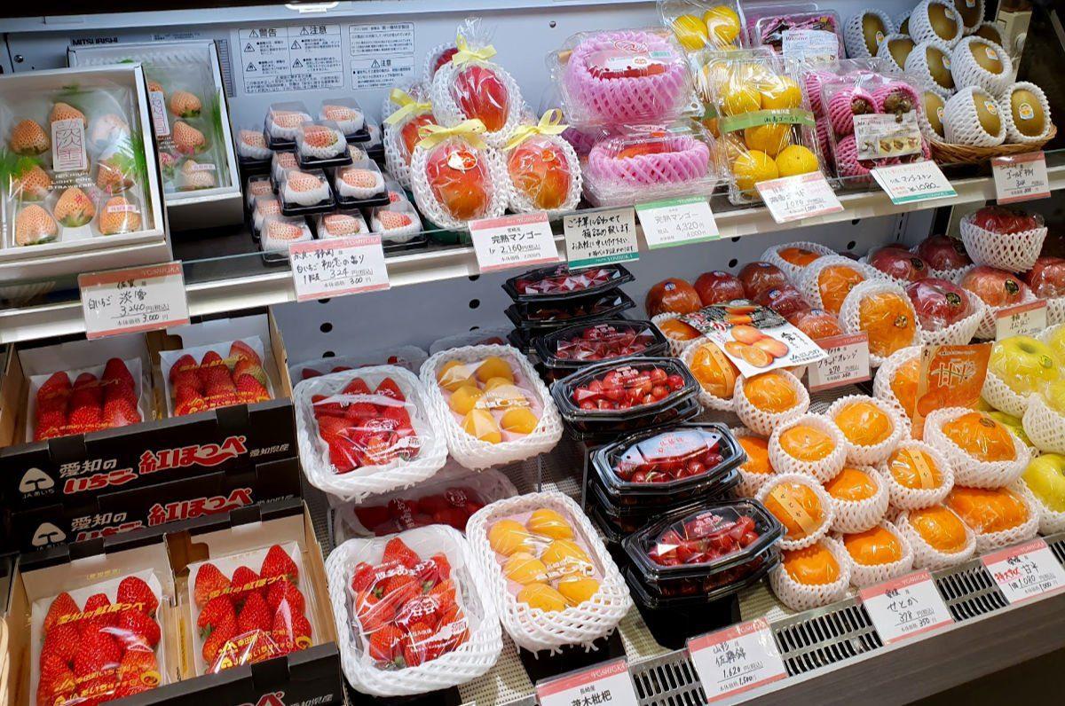 Fruit Options at Toyama Station