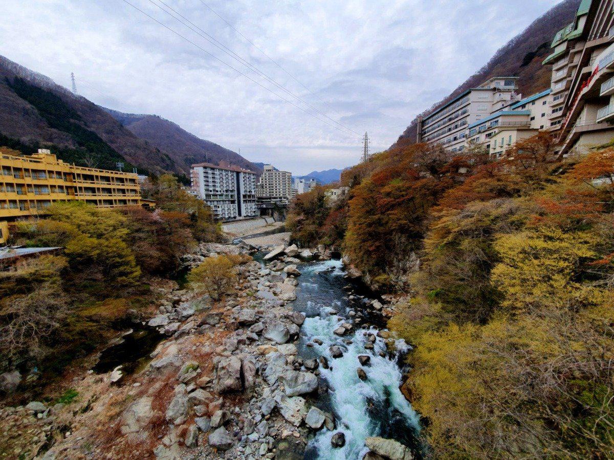 Kinugawa Onsen River