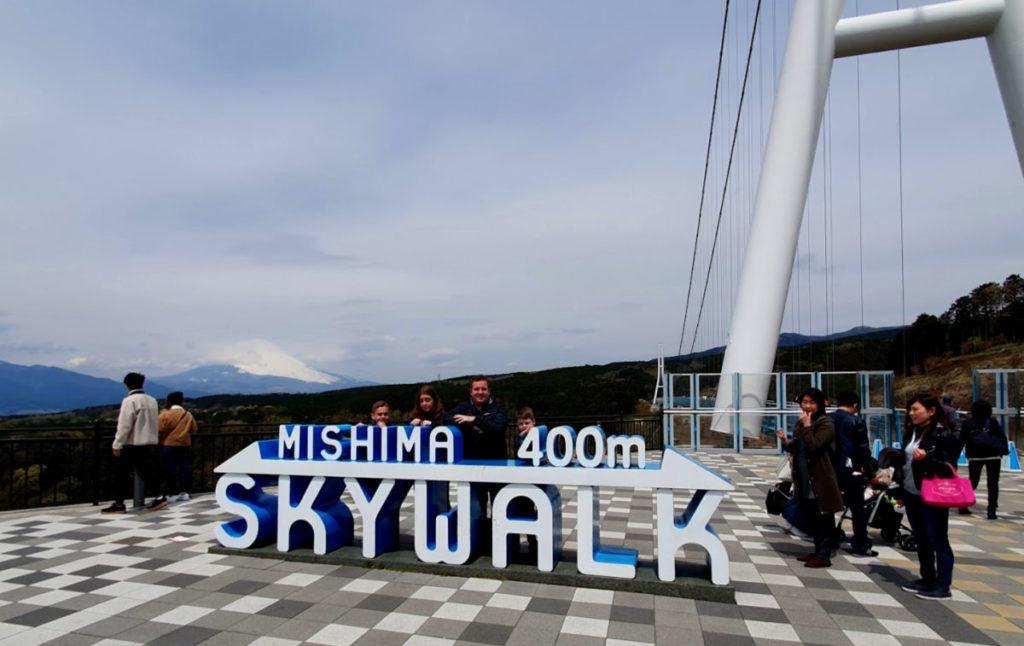 Mishima Skywalk in Hakone Japan