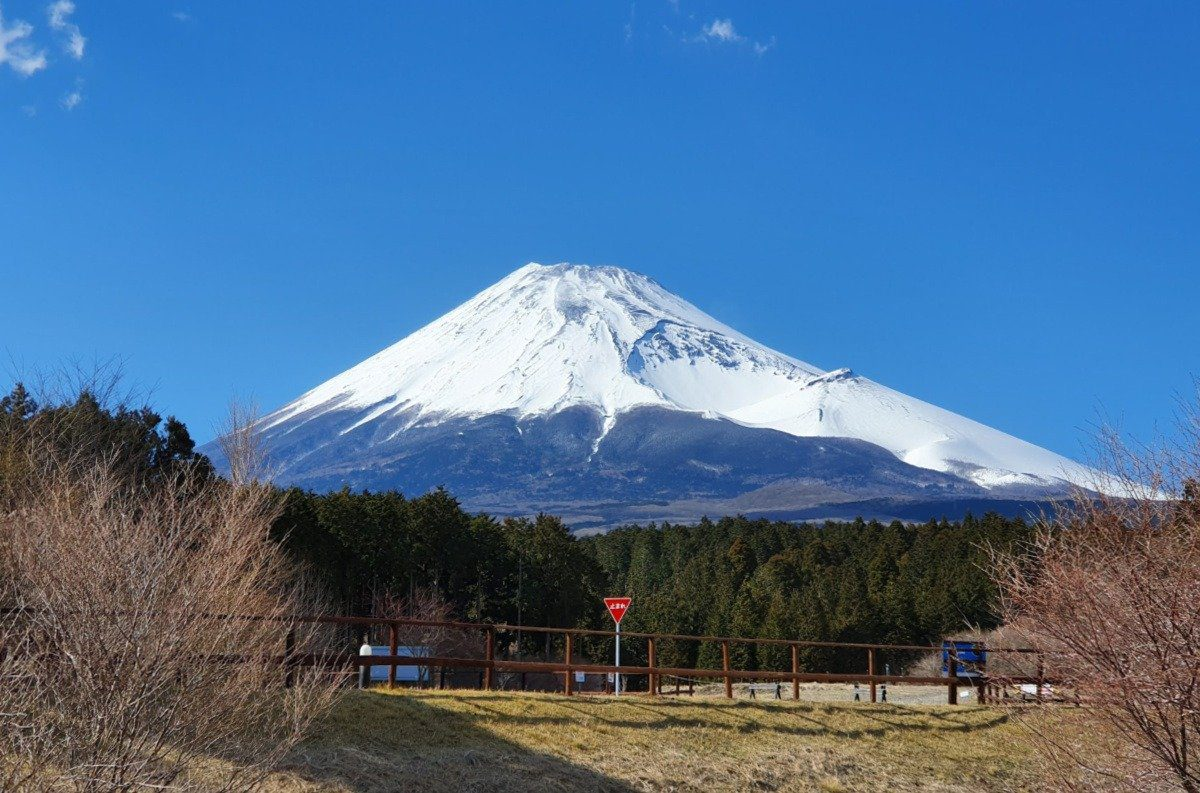 Mt Fuji from the Western Side