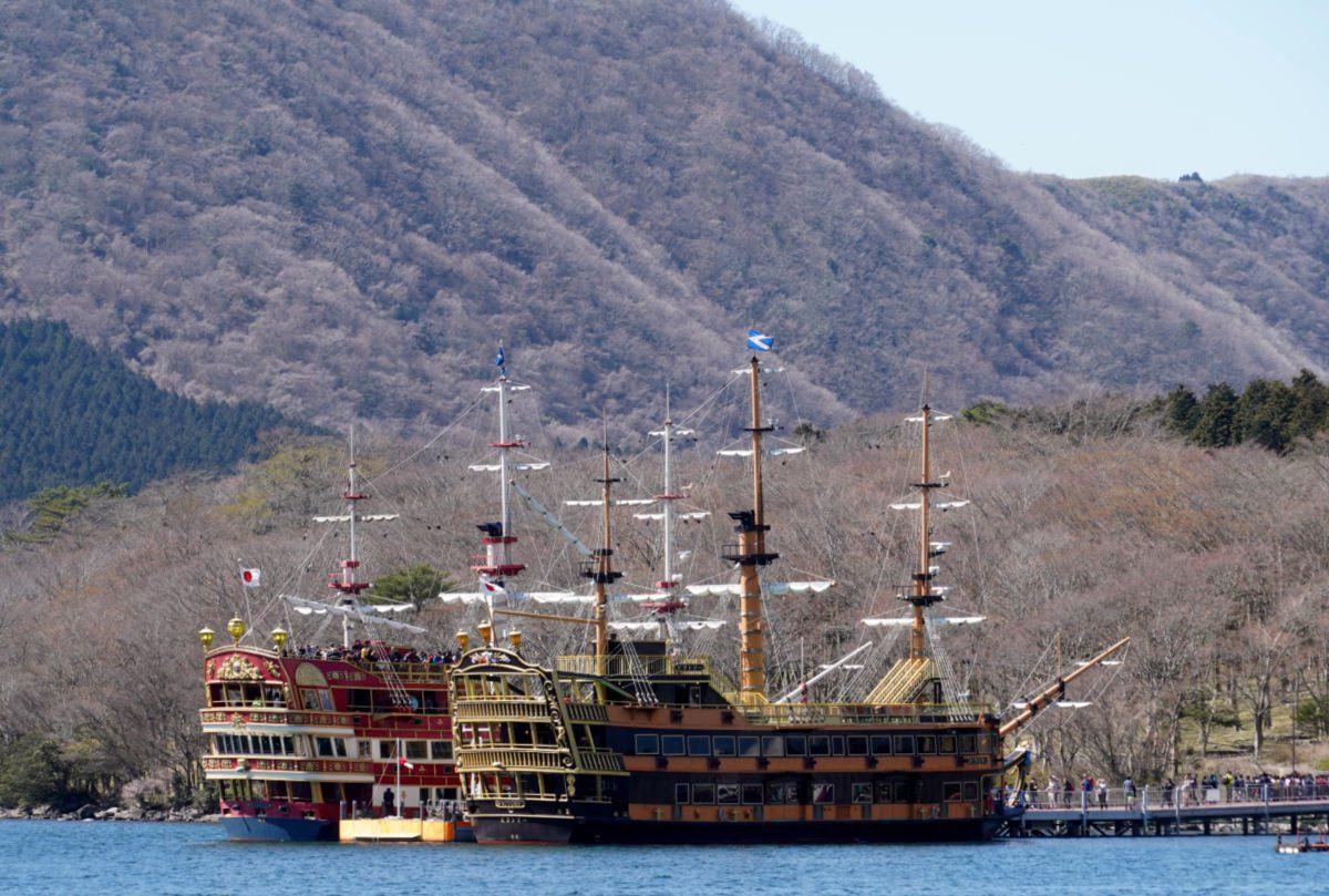 Pirate Ship Cruise on Lake Ashi in Hakone 2