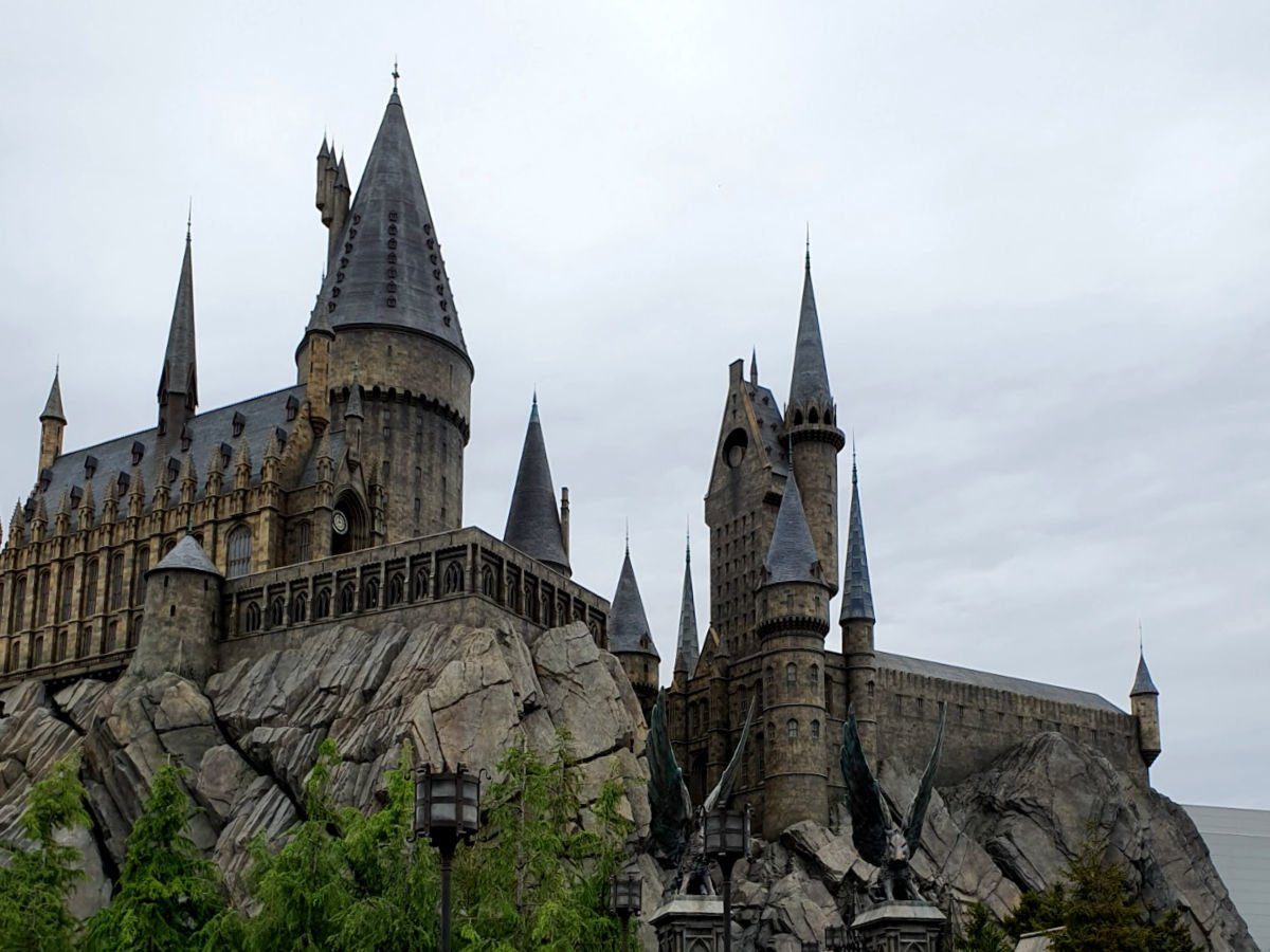 Universal Studios Japan - Hogwarts Castle