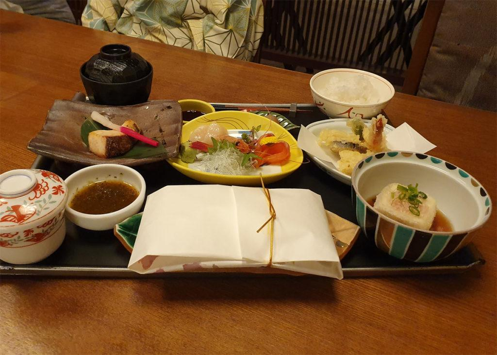 Children's Meal from our first night at Kai Nikko