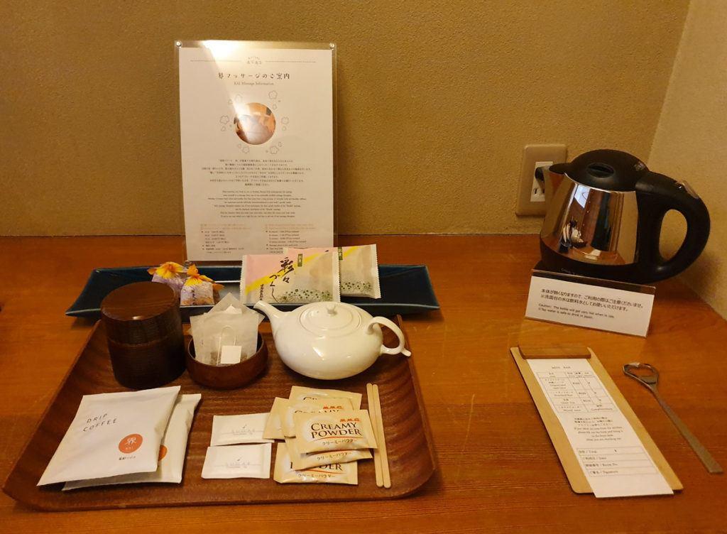 Complimentary Tea Facilities with Local Snacks