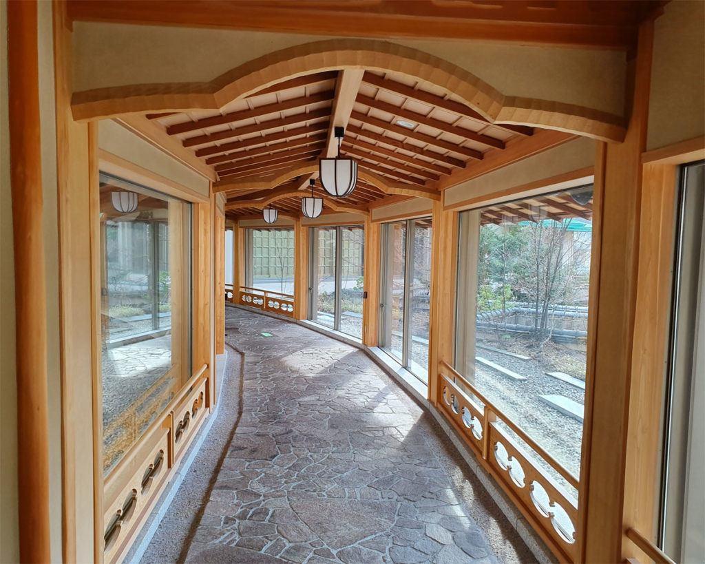 Entrance to Kai Nikko Restaurant
