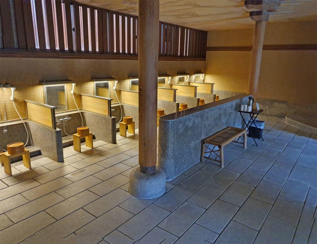 Kai Nikko Onsen Bathing Area