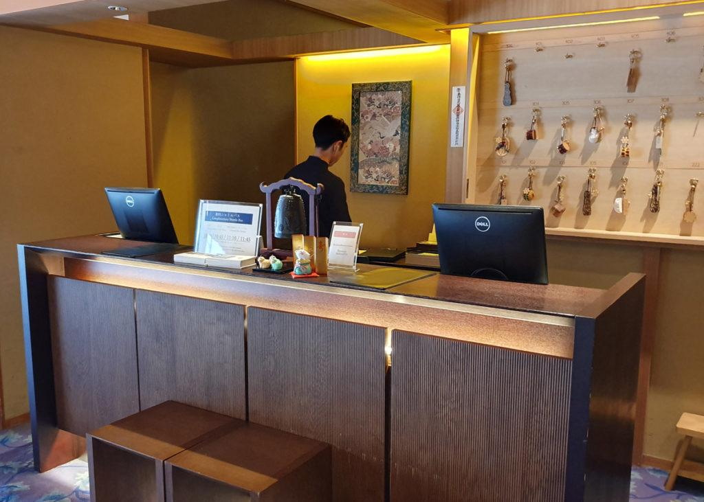 Kai Nikko Reception Desk