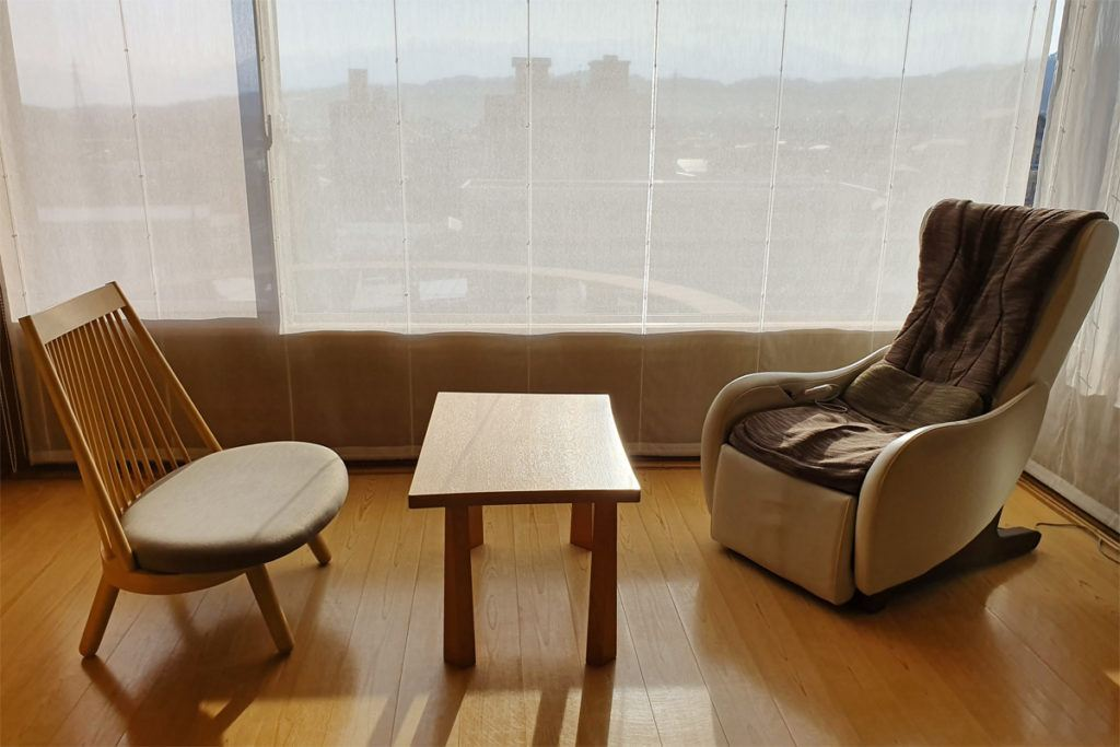 Sitting area in our room at Kai Matsumoto