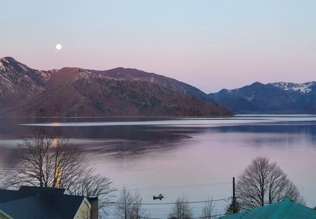 Lake Chuzenji from Kai Nikko