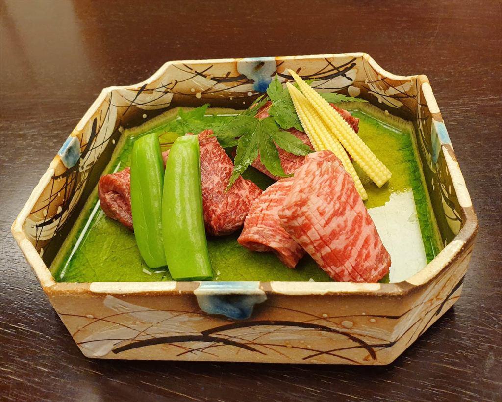Teppanyaki of Beef Rump, Tenderloin and Eye of Knuckle
