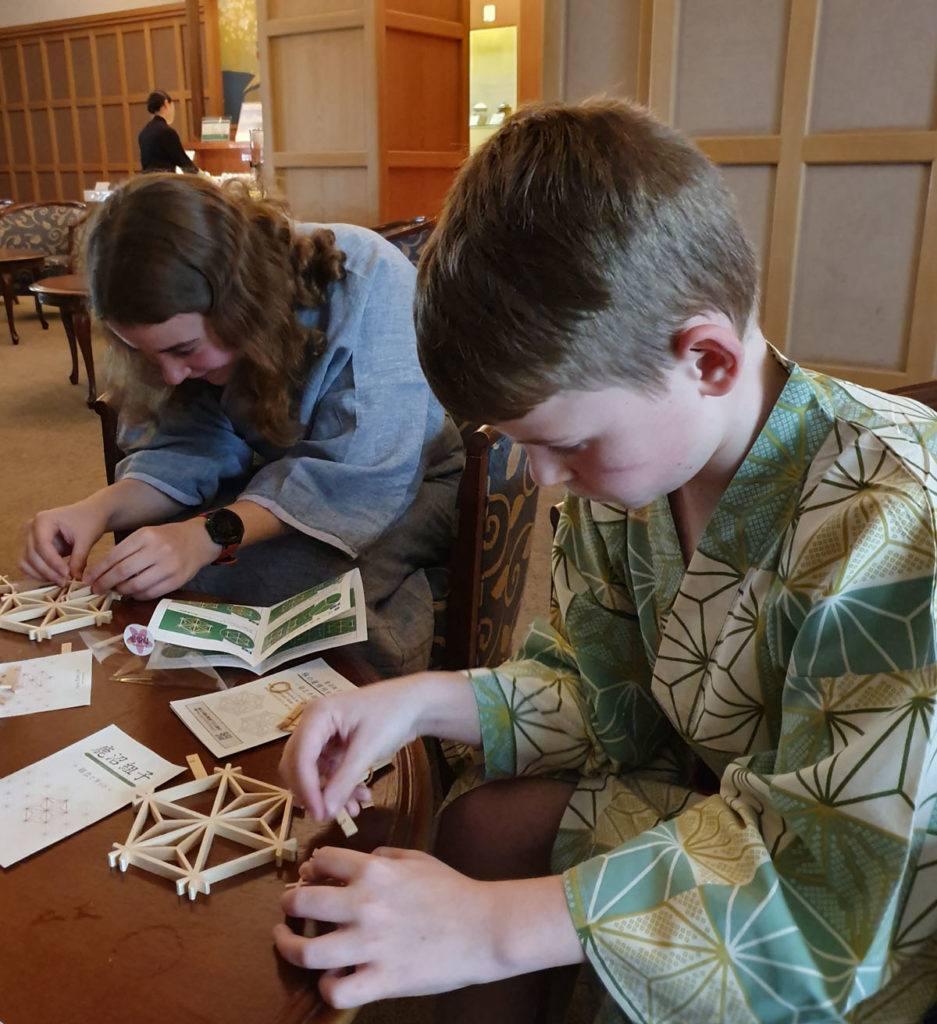 Wooden Coaster Making at Kai Nikko