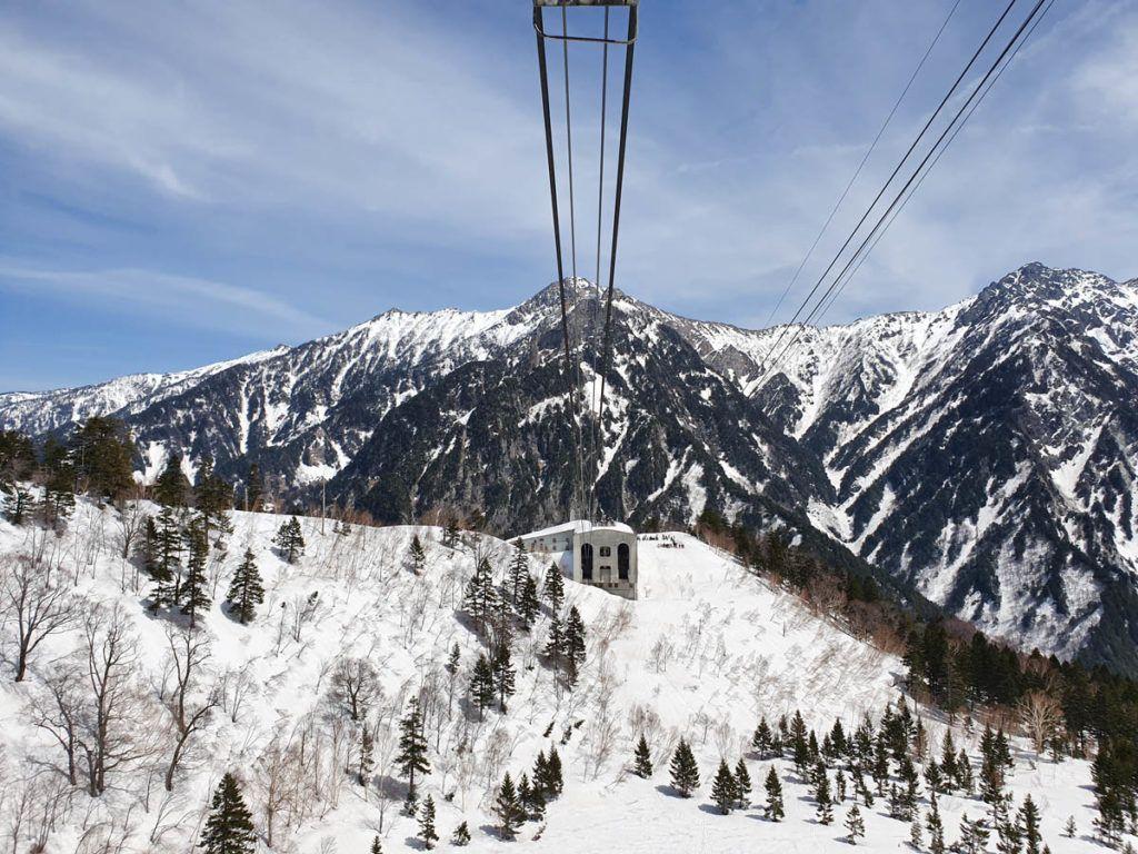 Alpine Scenery from Kurobedaira Ropeway