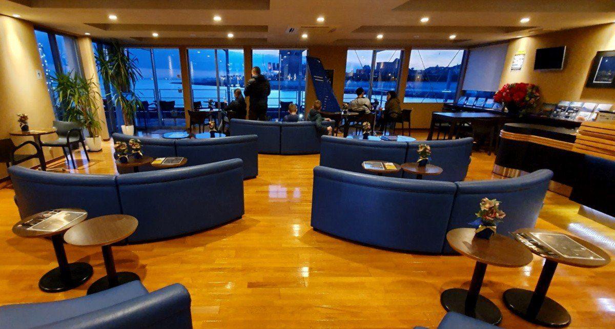 Excel Air Waiting Lounge at Urayasu Heliport in Tokyo