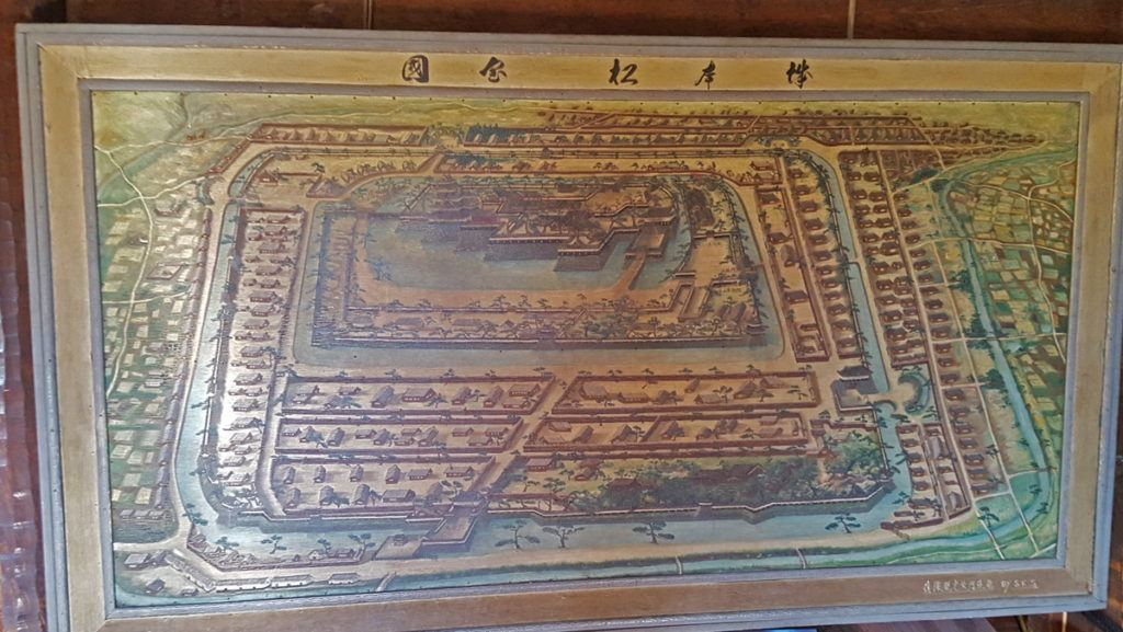 Historical map of Matsumoto