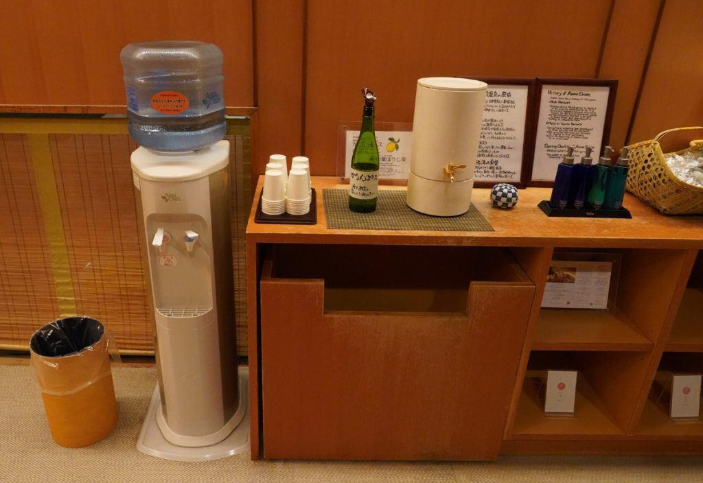 Hydration Station at Kai Matsumoto Onsen
