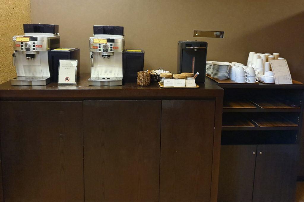 Kai Matsumoto Self-Service Tea and Coffee Station