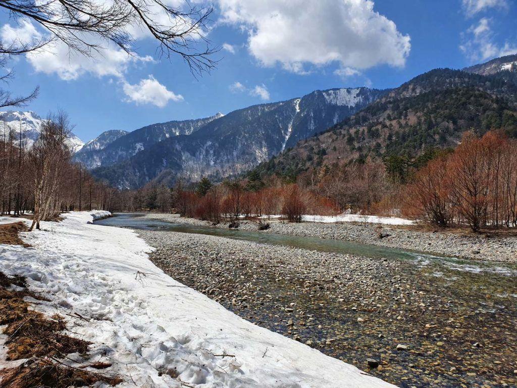 Azusa River in Kamikochi National Park