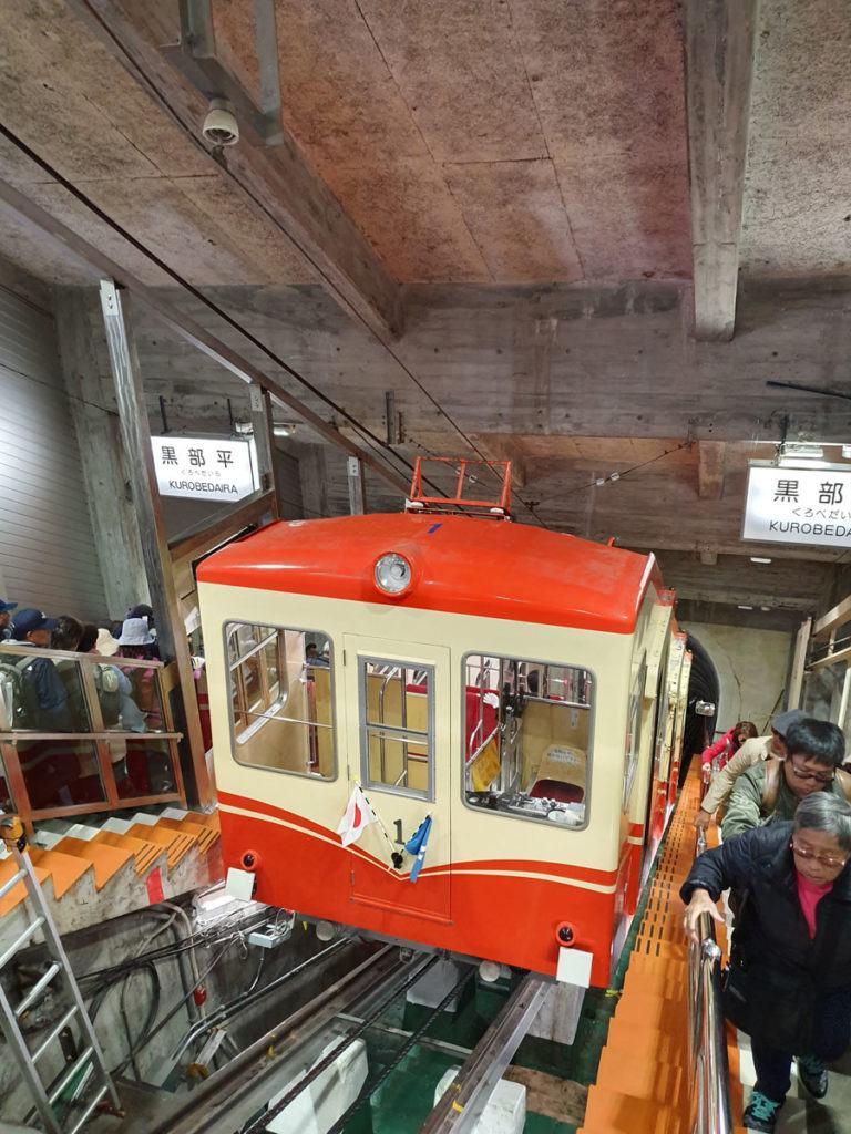 Kurobe Cable Car