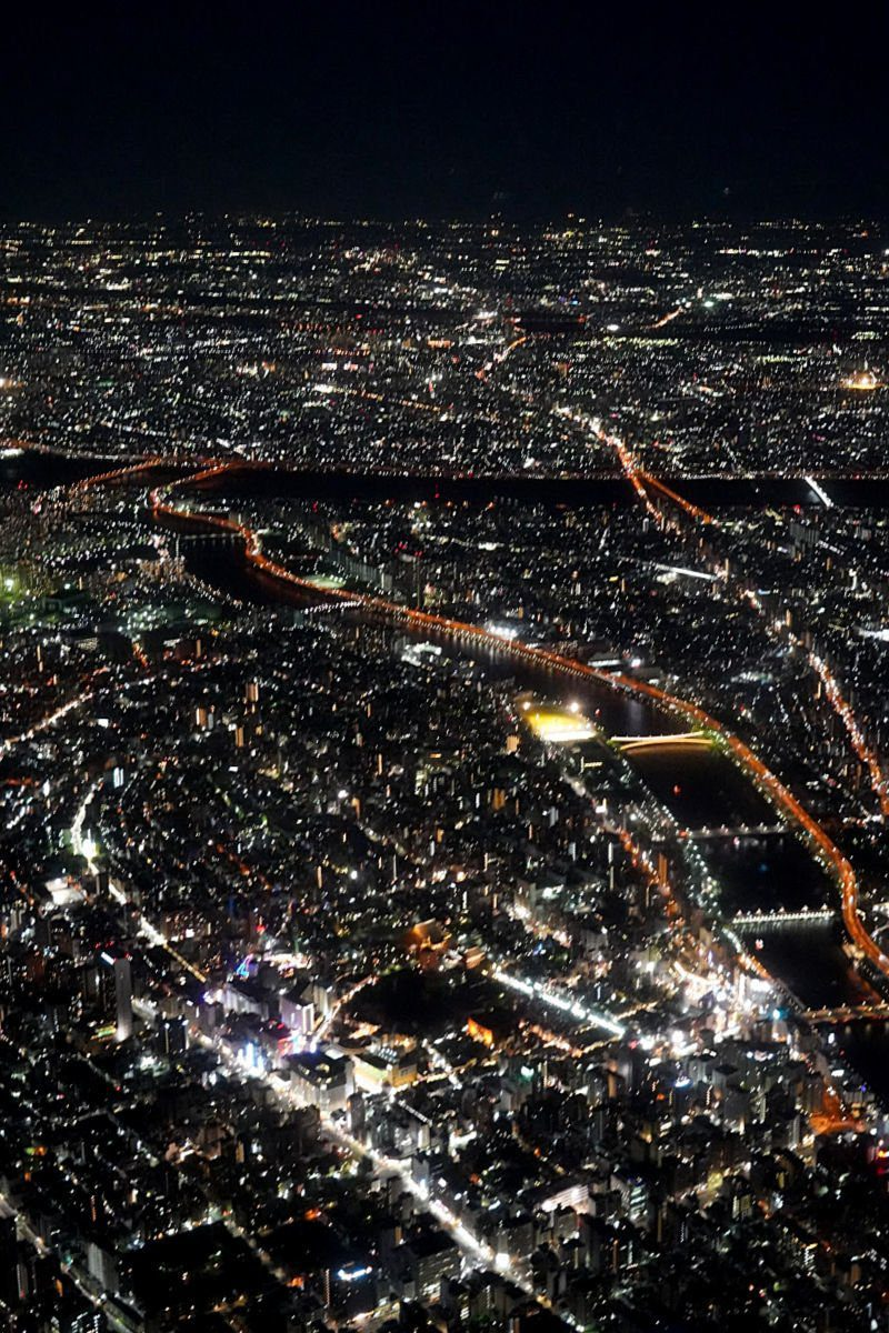 More Helicopter Ride Views over Tokyo