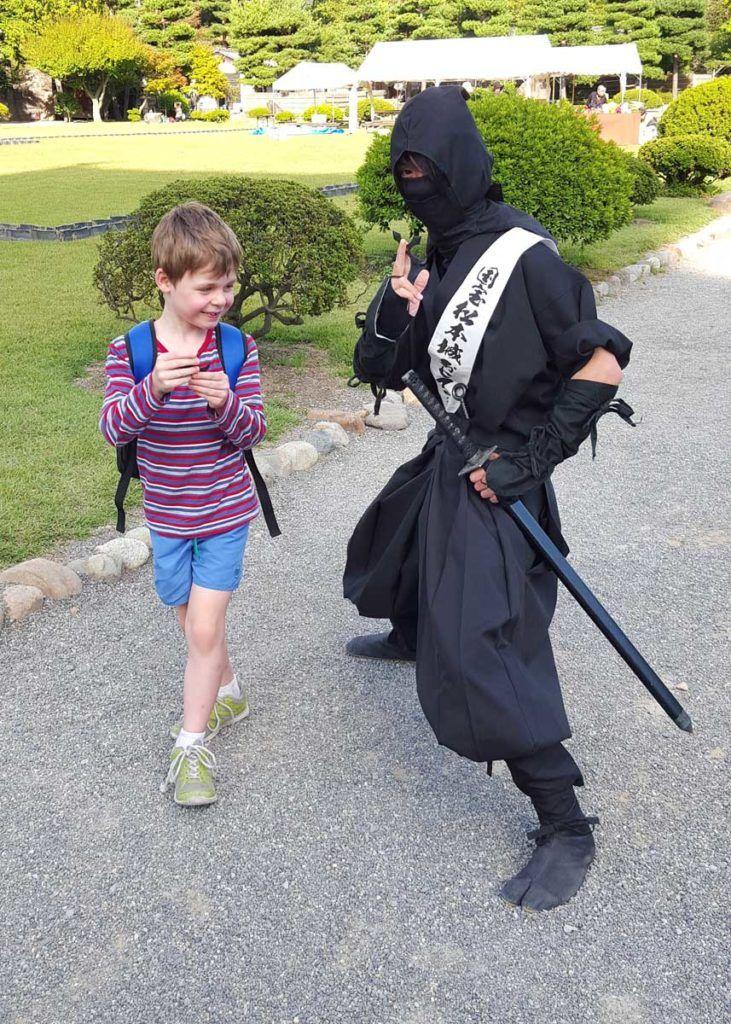 Ninja Warriors at Matsumoto Castle