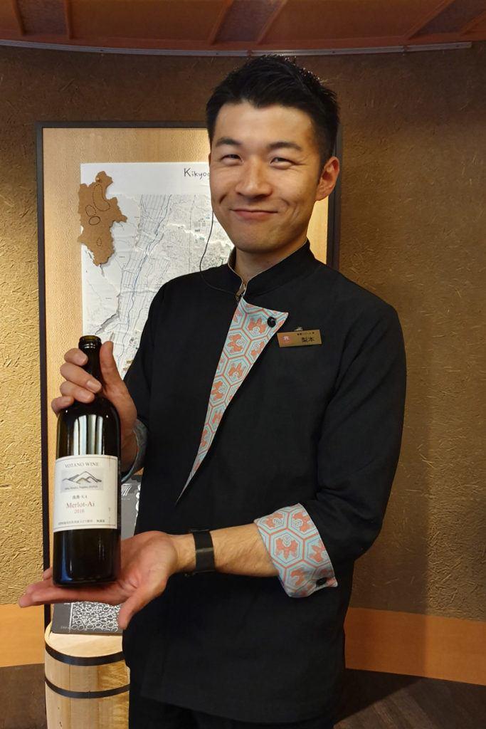 Our Wine Tasting Host