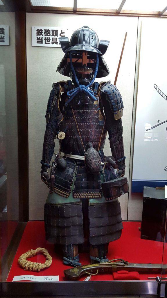 Samurai Armour in Matsumoto Castle