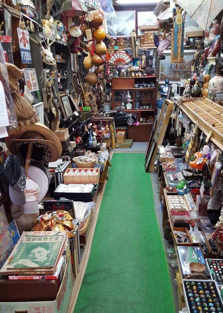 Shop on Nawate Dori