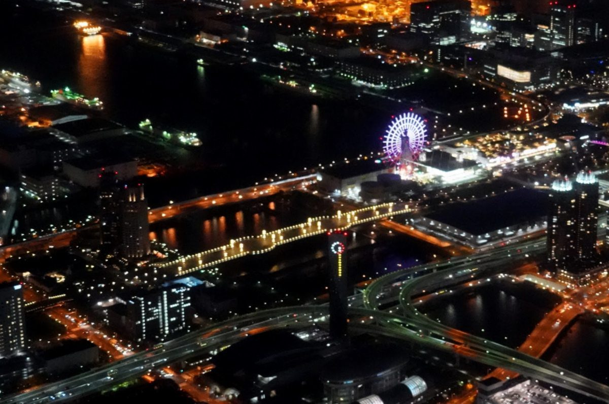 Tokyo Helicopter Cruise over Disney Resort Area