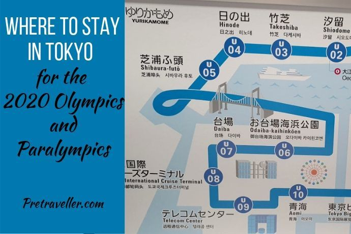 Where to stay in Tokyo - Olympics 2020