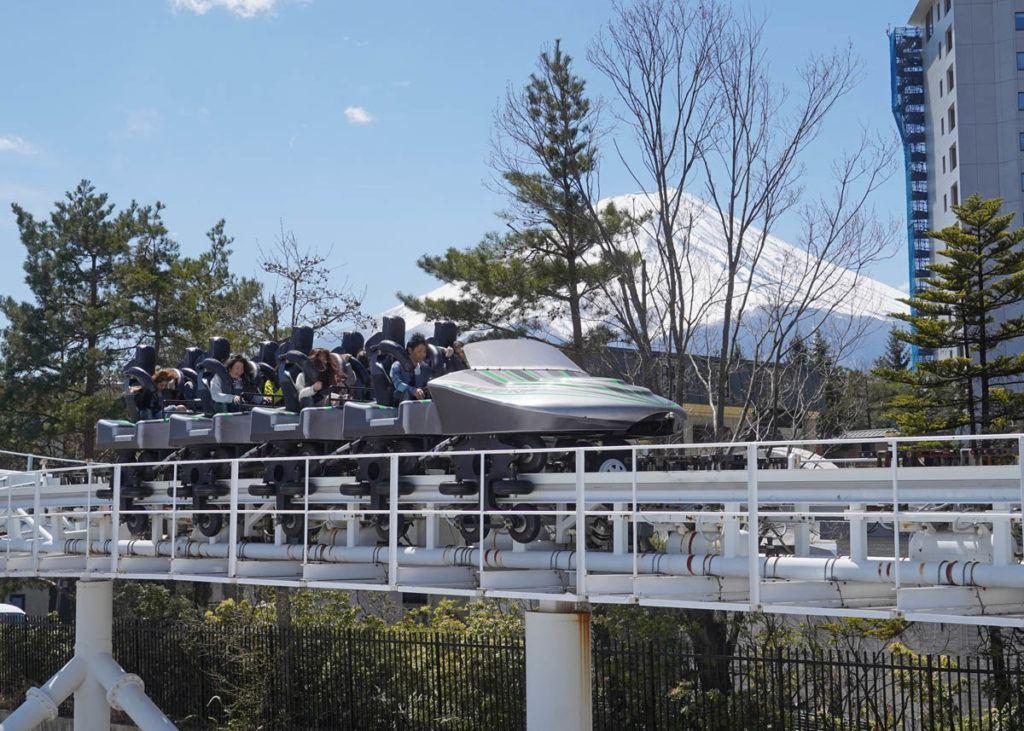 Dodonpa with Mt Fuji in background