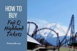 How to Buy Fuji Q Tickets