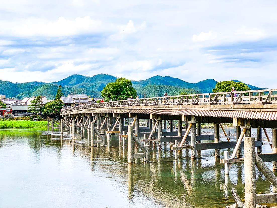 Arashiyama Kyoto in Spring by Thrifty Family Travels