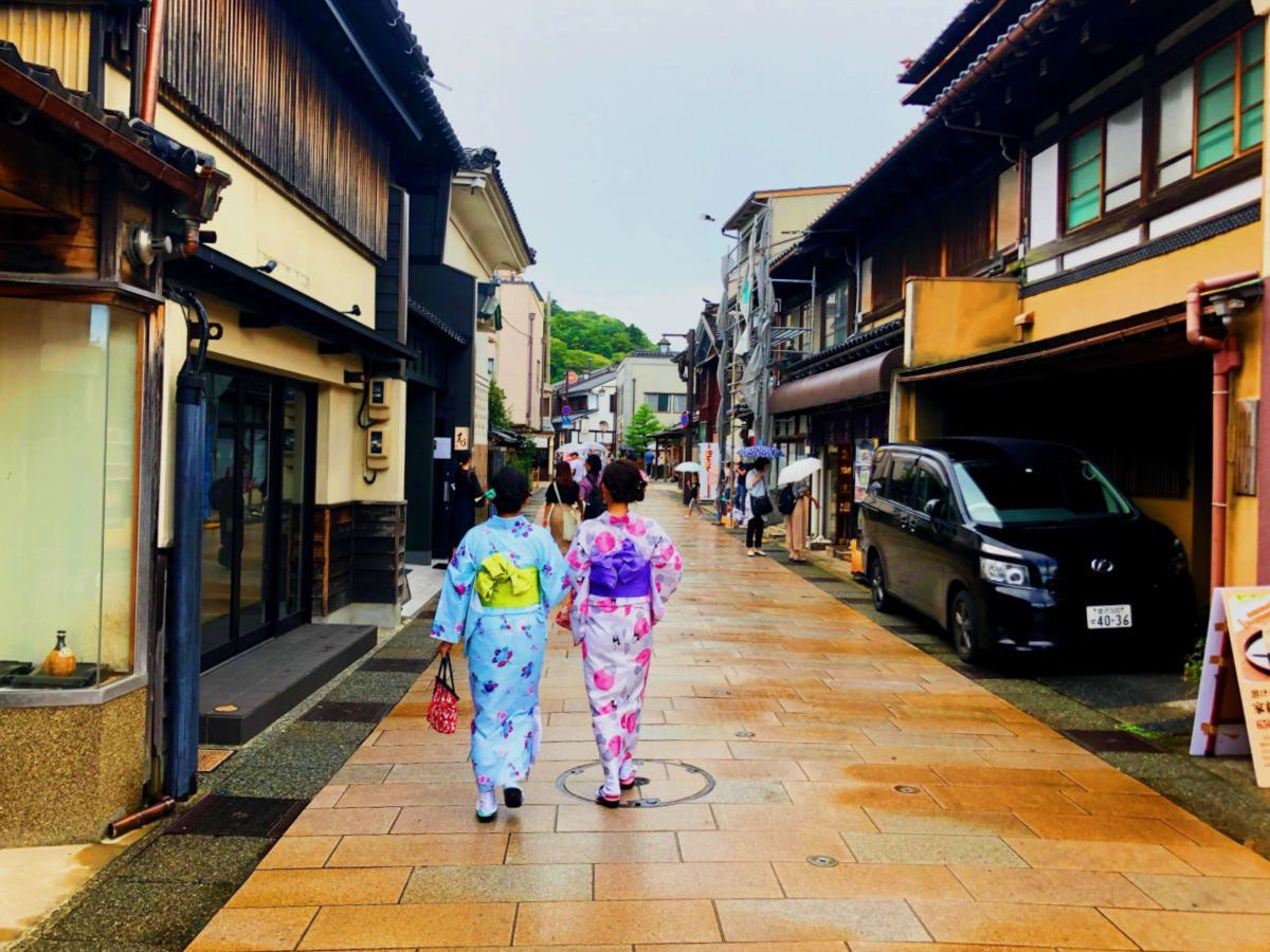 Kanazawa in the Spring by the Kid Bucket List