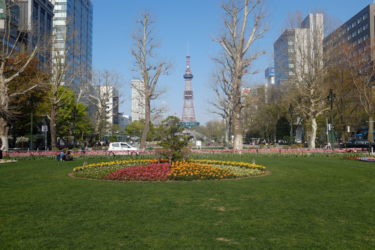 Odori Park in Sapporo by The Travel Byte
