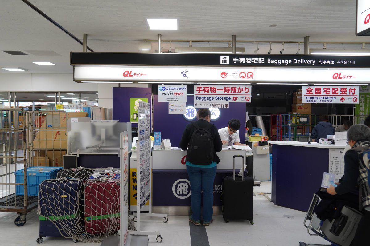 QL Liner Counter at Narita Airport