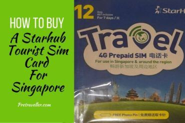 Starhub Tourist Sim Card for Singapore