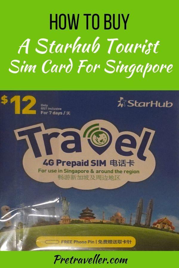 Starhub Tourist Sim Card for Singapore