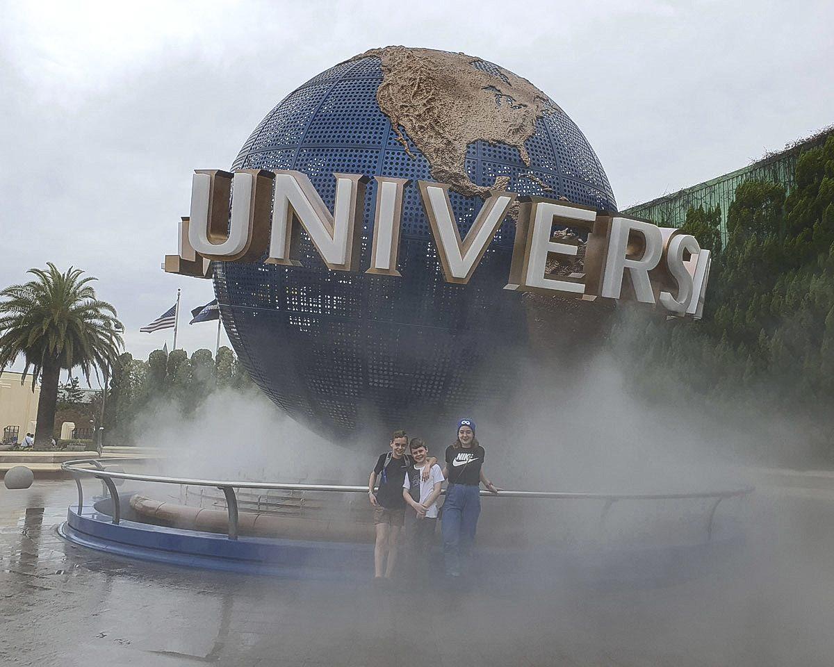 Universal Studios Globe Sign