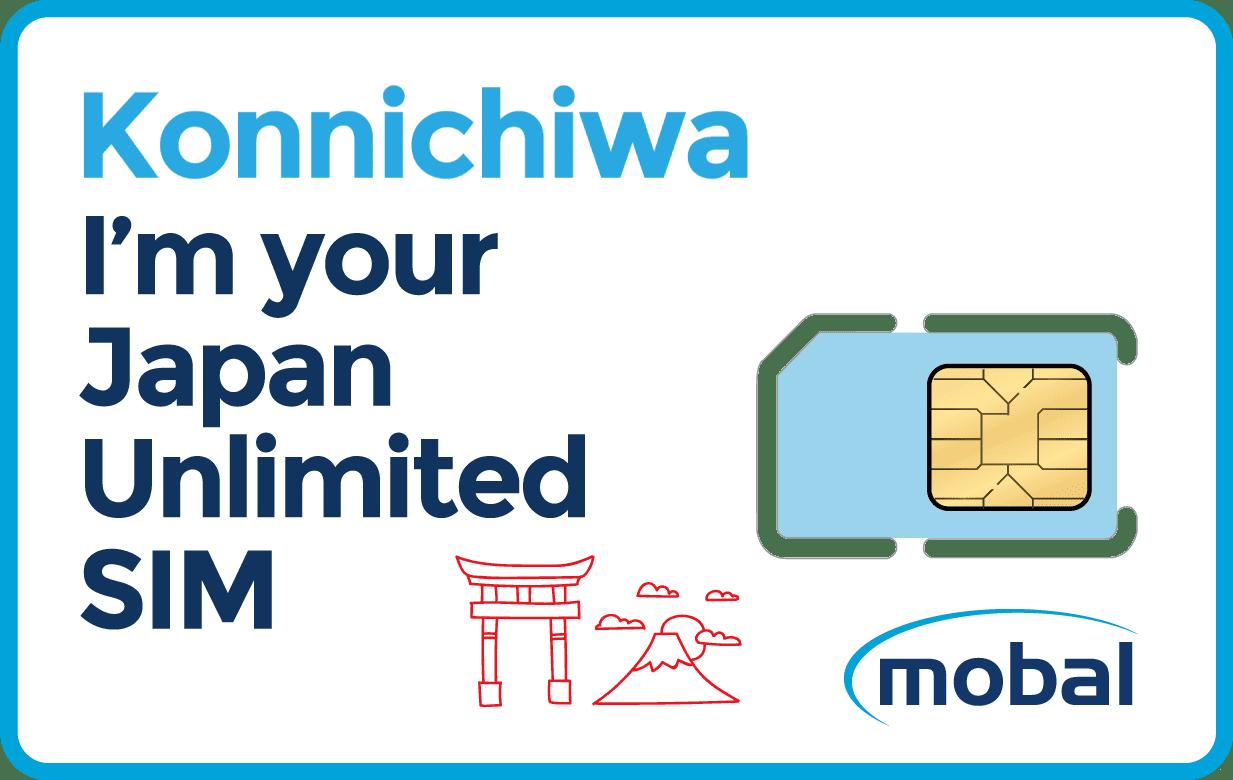 Mobal Sim Card for Japan