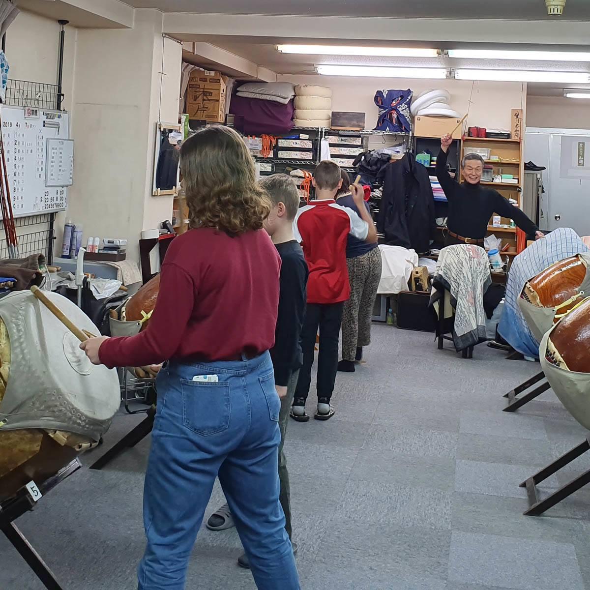 Taiko drumming workshop