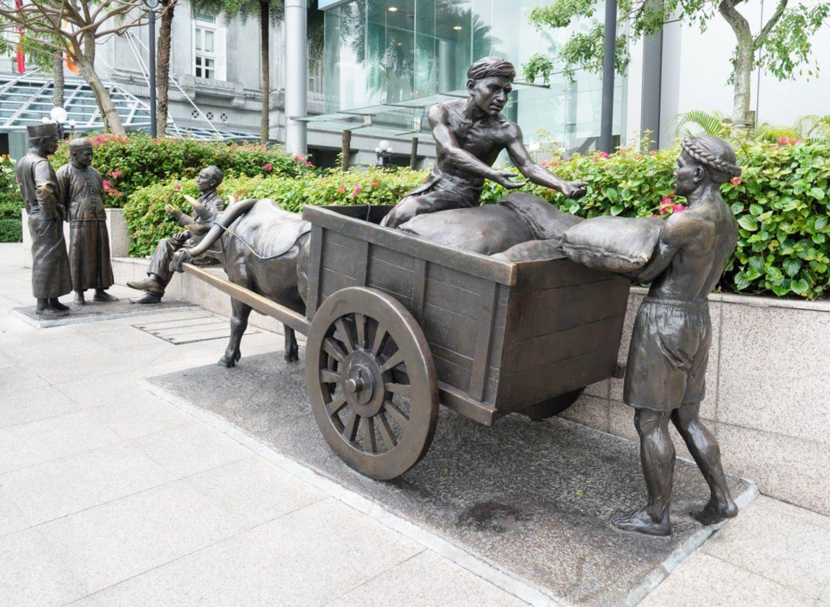 Sculptures in Singapore City Area