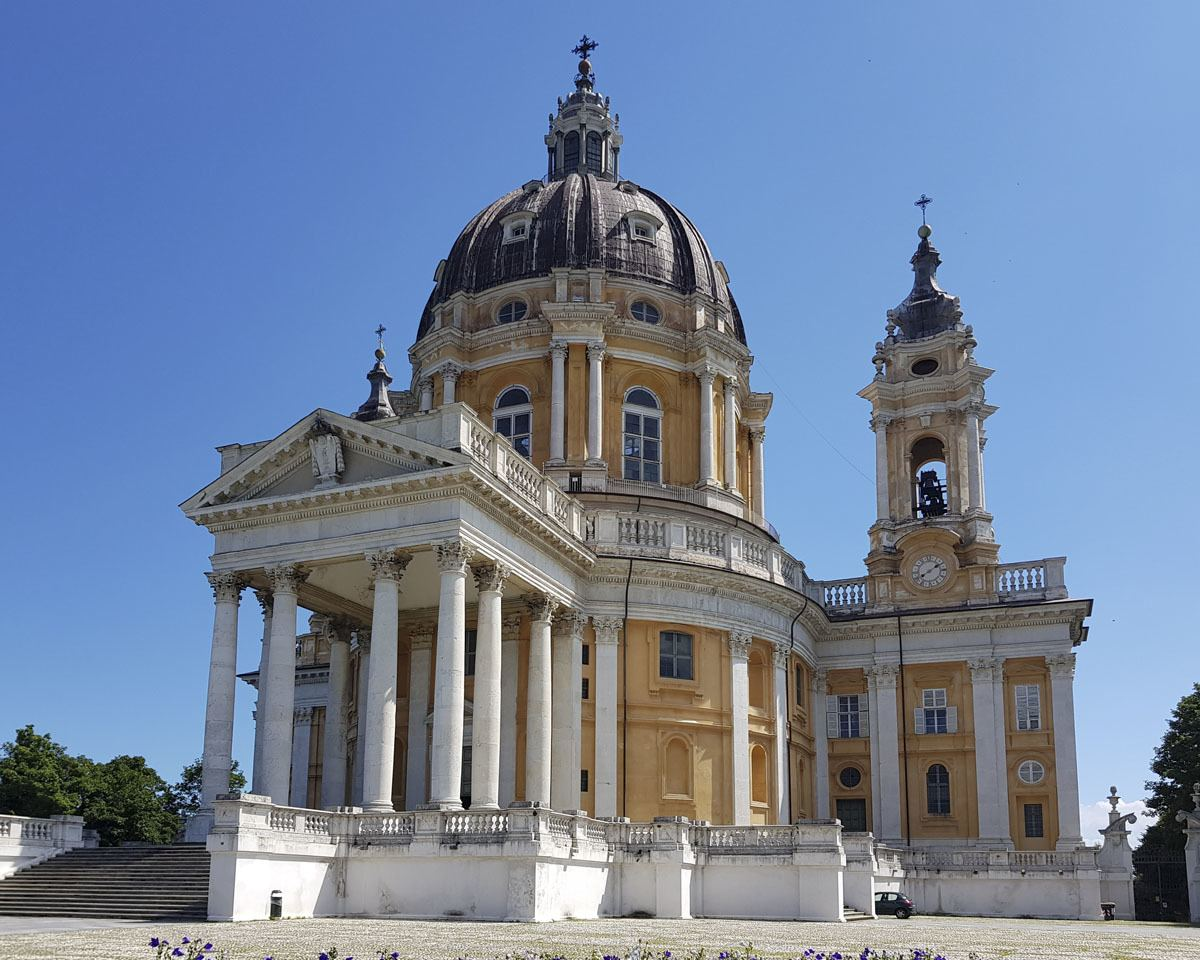Superga Cathedral near Turin