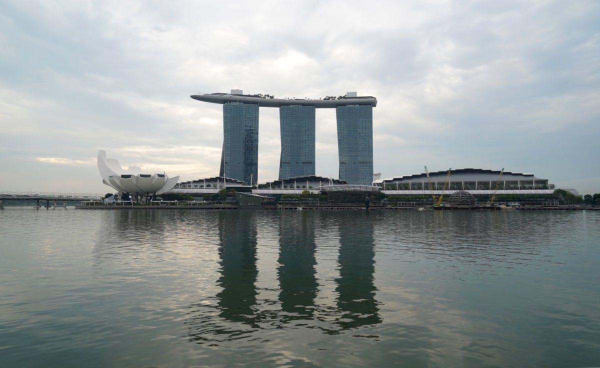 Views of Marina Bay Sands