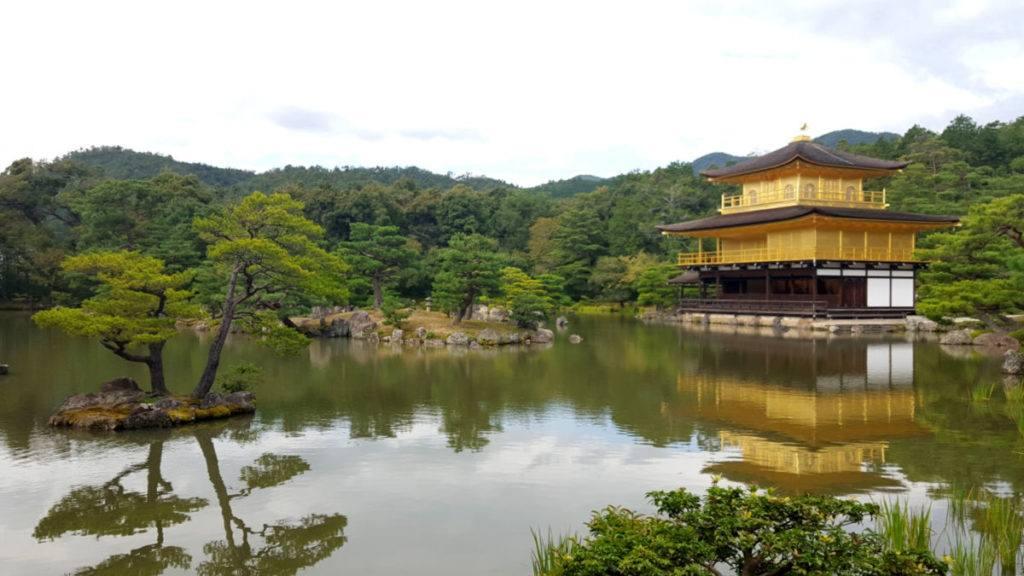 Kinkakuji Temple (or the Golden Pavilion) in Kyoto