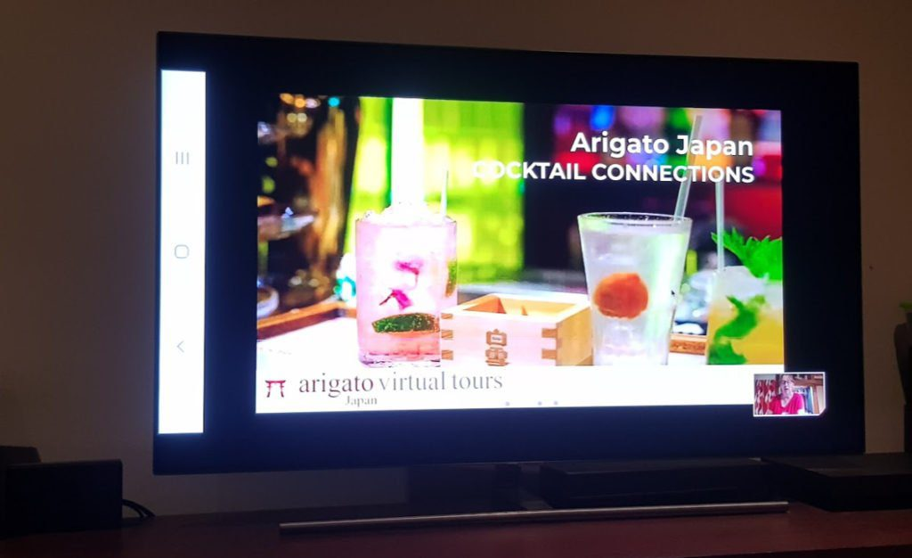 Arigato Japan Virtual Tours - Start of Cocktail Connections Lesson