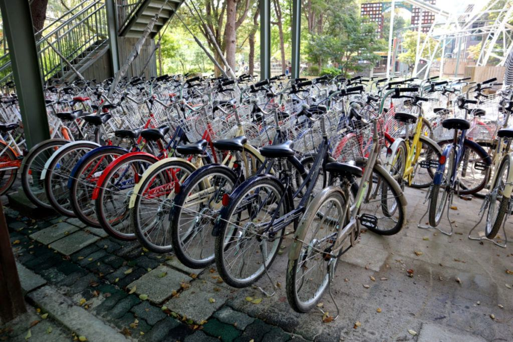 Nami Island Bicycles for Rent