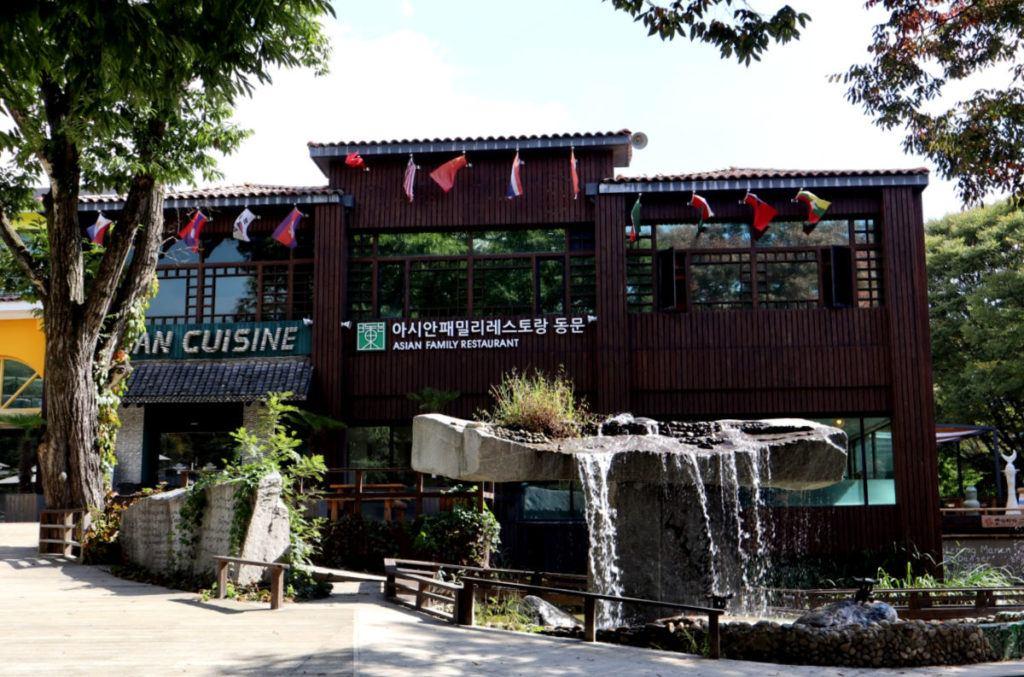 Restaurants on Nami Island