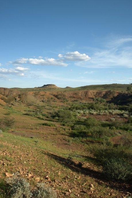 Craters in Henbury Meterorites Conservation Reserve