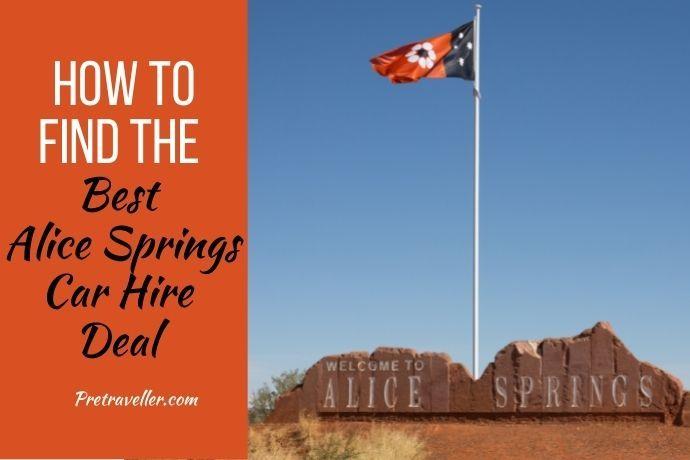 Best Alice Springs Car Hire Deal