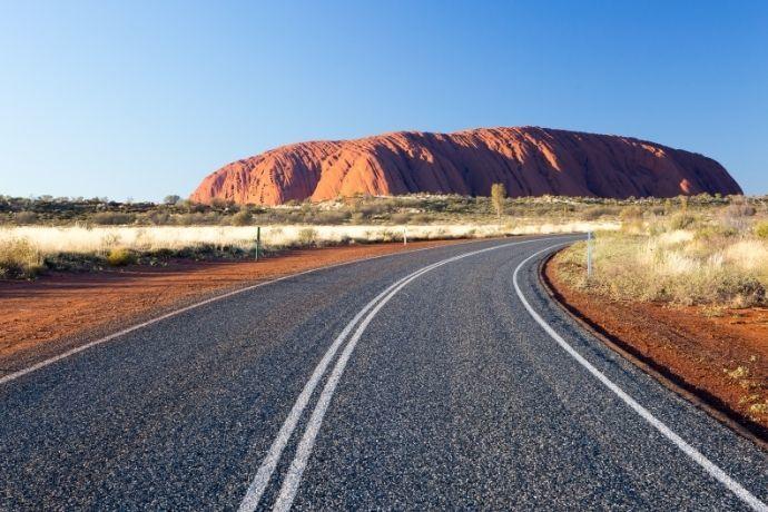 On the Road to Uluru, NT
